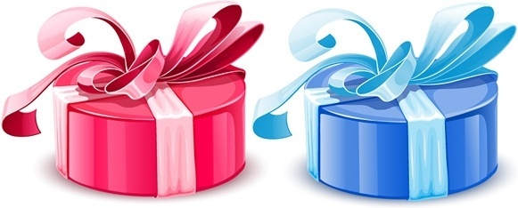 gift packaging vector