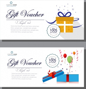 Gift Voucher Template Vector Free Vector Download 17823 Free