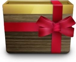 Gift wood box