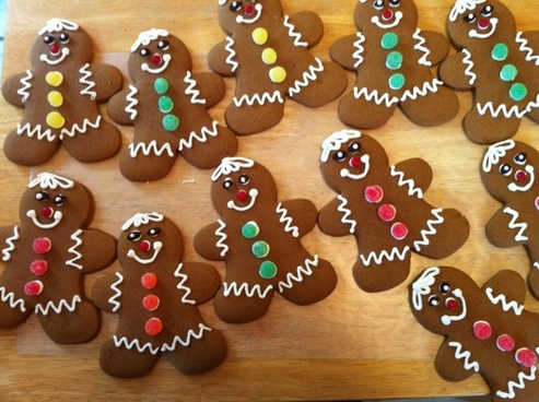 gingerbread gingerbread men cookies