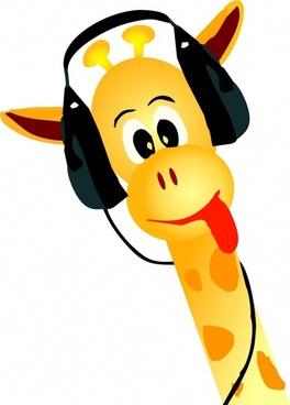 giraffe yellow animal