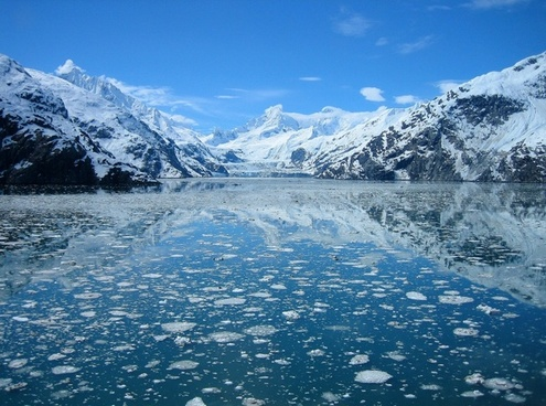 glacier bay alaska lake water
