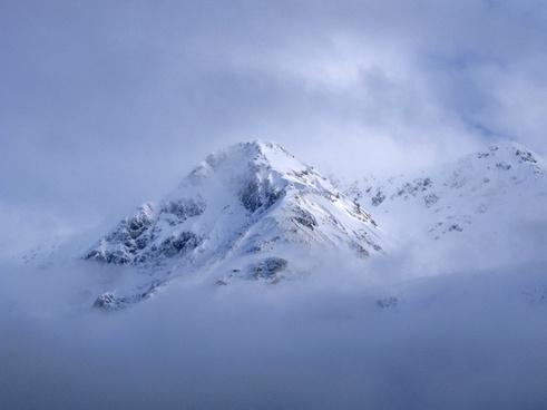 glacier bay alaska sky