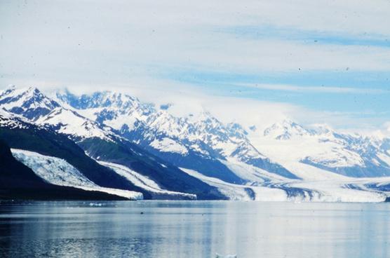 glacier flows