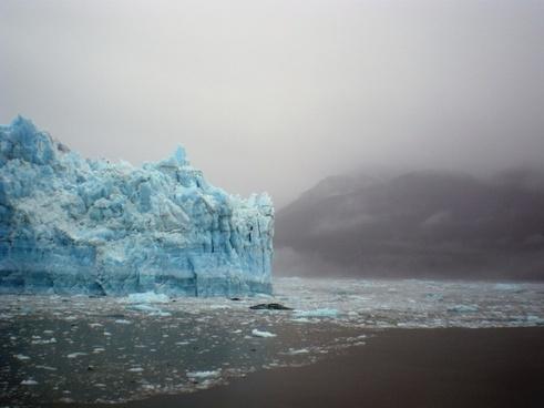 glacier ice alaska