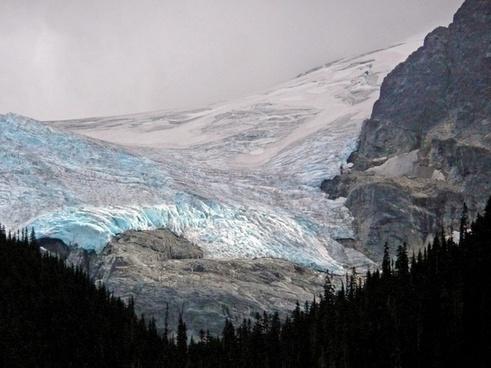 glacier joffre lake skihist mountain