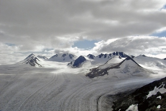glacier mountain alaska