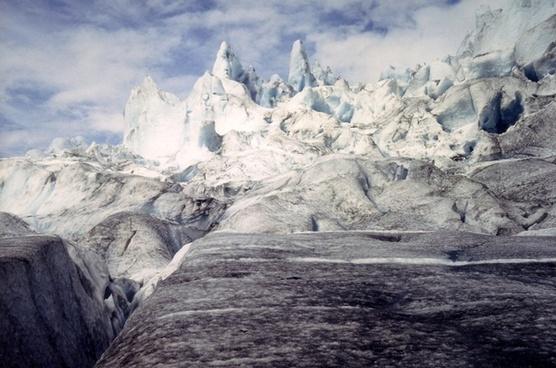 glacier norway ice