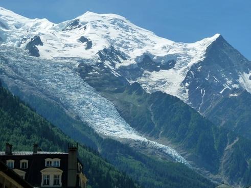 glacier snow window