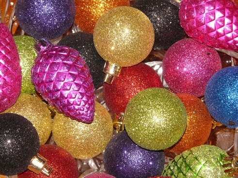 glaskugeln sparkle christbaumkugeln