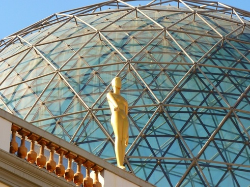 glass dome fig golden