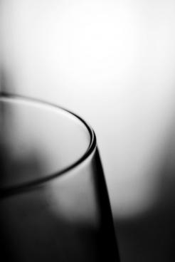glass edge black amp white