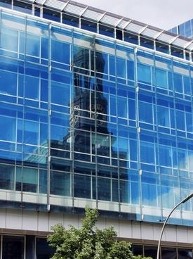 glass facade window hamburg