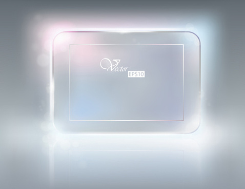 glass frames object vector