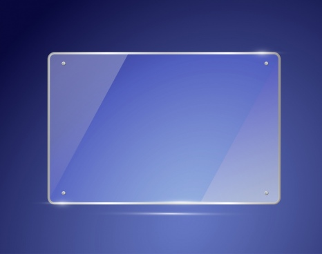 glass mirror icon shiny flat design