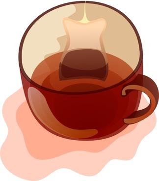 Glass Mug Of Tea clip art