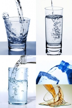 glass of pure water highdefinition picture