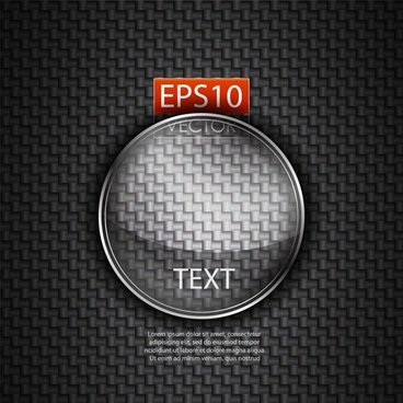 glass texture stickers 05 vector