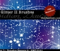 Glitter II Brushes