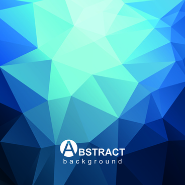 gloss geometric polygonal vector background art