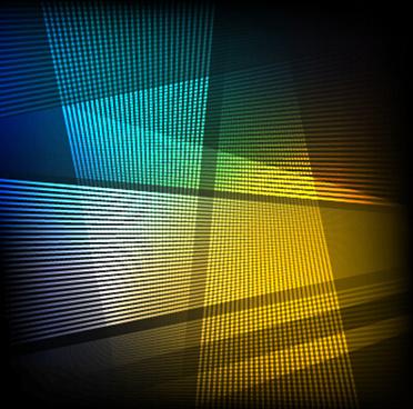 gloss light lines art background vector