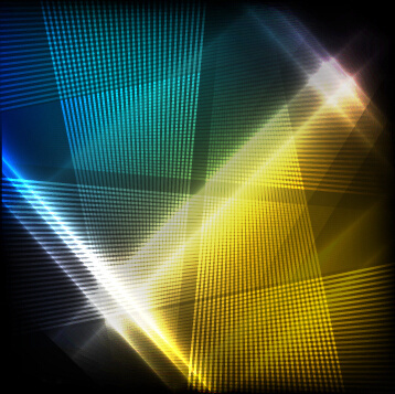 gloss light lines art background vector
