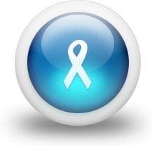 Glossy 3d blue ribbon