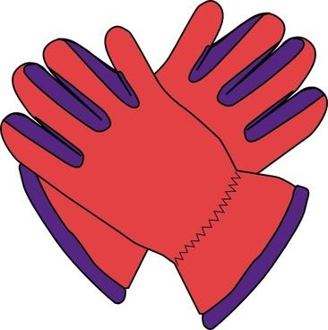 Gloves clip art