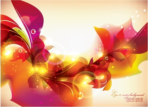 flowers background modern elegant colorful twinkling decor