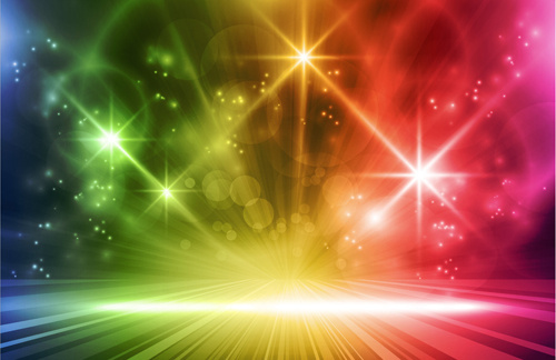 glowing abstract backgrounds design vector