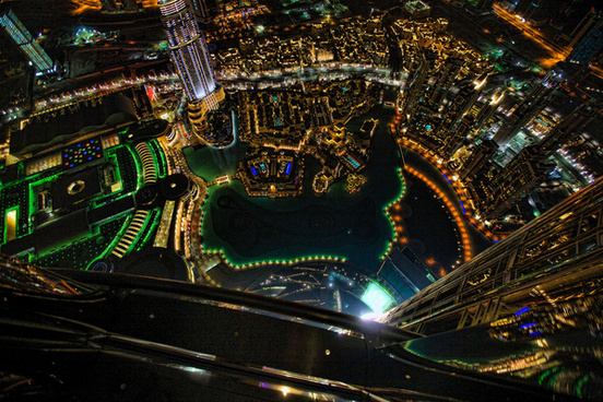 glowing dubai