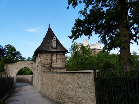 goal castle gate castle
