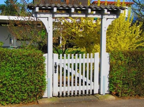 goal garden gate door