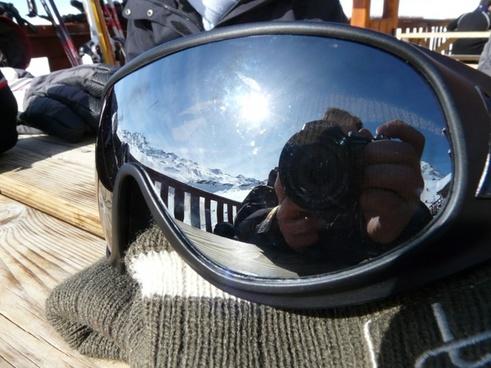 goggles mirroring mirror