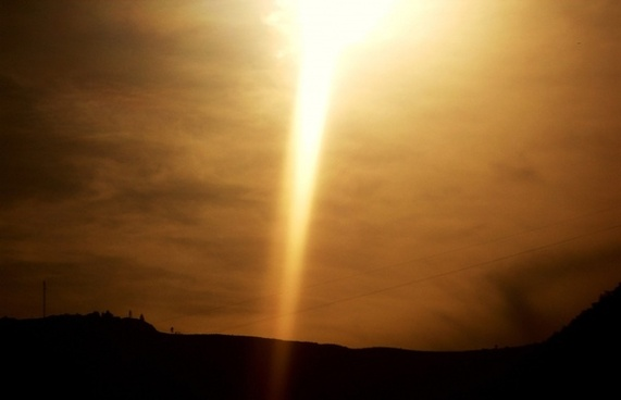 gold beam