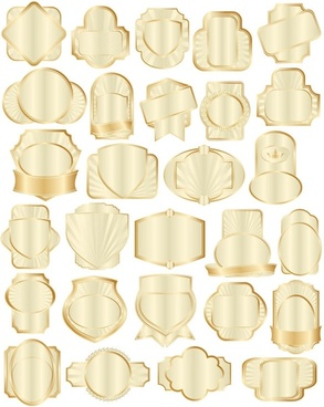 gold collection bottle attached 01 vector