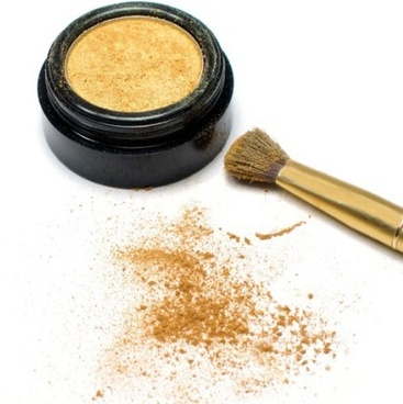 gold eye shadow highdefinition picture