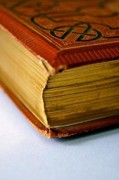gold gilt edge book