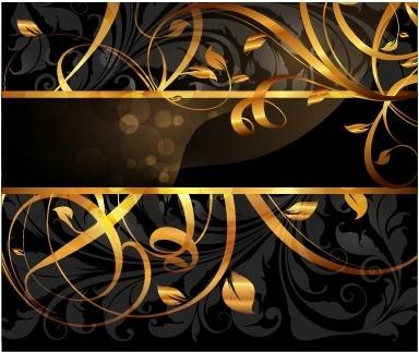 decorative background elegant formal golden dynamic decor