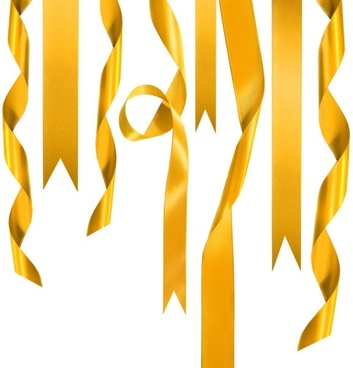 gold ribbon 01 hd pictures