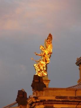 gold sculpture dresden