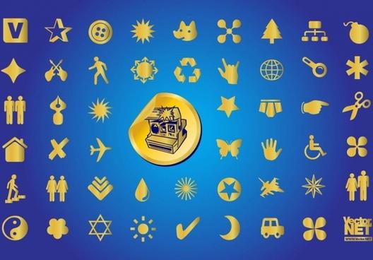 Gold Symbols