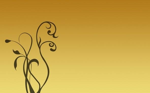 golden background with swirls