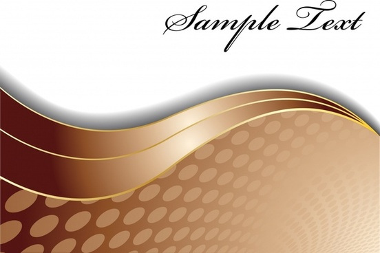 abstract background modern brown curves decor