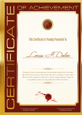 Coreldraw Certificate Template Free Vector Download 19 675 Free