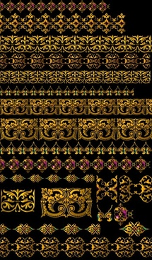 golden gorgeous lace psd layered