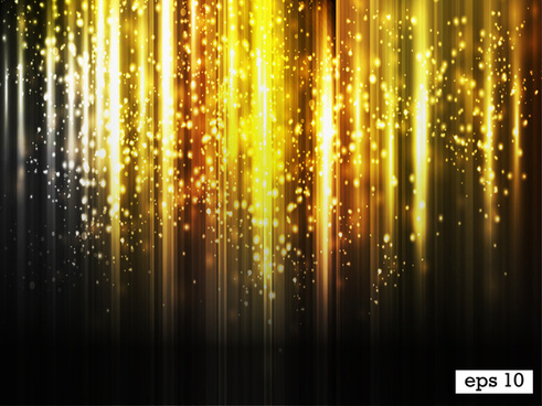 golden light abstract background