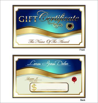 Free vector gift certificate free vector download 3569 free vector golden style gift certificate design vector yadclub Gallery