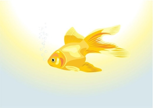 goldfish vector 1