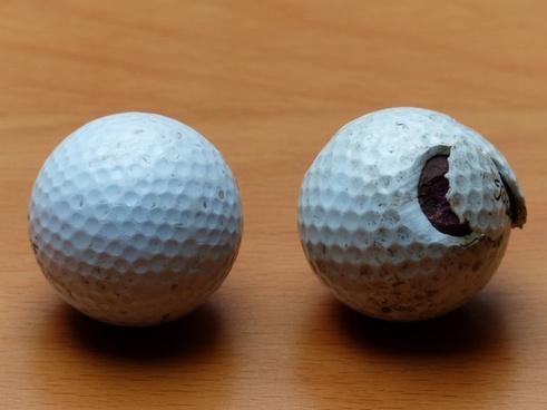 golf balls golf balls